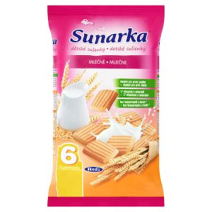 Sunarka Dětské mléčné sušenky 175g