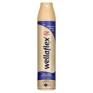 Wella Wellaflex Volume boosting lak na vlasy pro zvětšení objemu a silné zpevnění 250ml