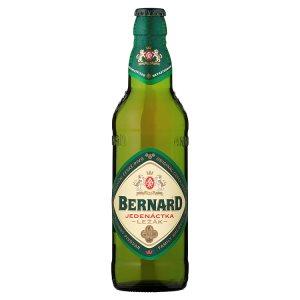 Bernard Jedenáctka tradiční světlý ležák 0,5l v akci