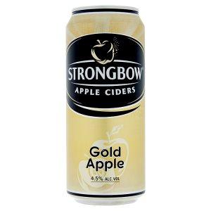 Strongbow Cider 400ml (plechovka), vybrané druhy