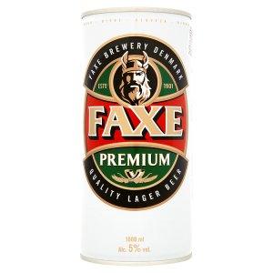 Faxe Premium Pivo světlý ležák 1000ml