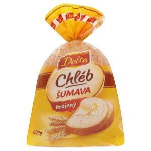 Delta Šumava pšenično žitný chléb krájený 600g