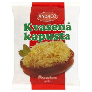 Andaco Kysané zelí bílé ve slaném nálevu 1kg