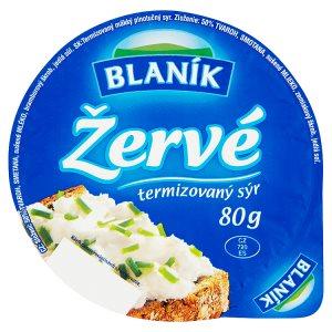 Blaník Žervé termizovaný sýr 80g