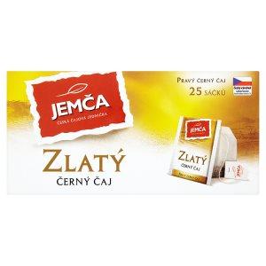 Jemča Zlatý černý čaj, vybrané druhy 25 x 2g