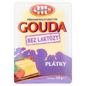 Mlekovita Gouda přírodní polotvrdý sýr 150g