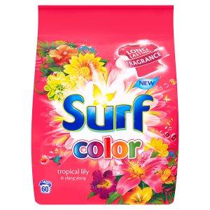 Surf prací prášek 60 dávek, vybrané druhy