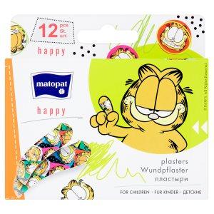 Matopat happy Náplasti pro děti á 12 ks