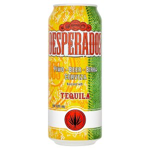 Desperados pivo speciální světlé ochucené s příchutí Tequily 500ml