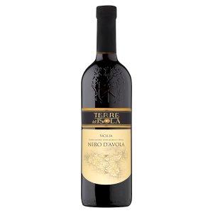 Terre dell' Isola Nero d'Avola červené víno 0,75l