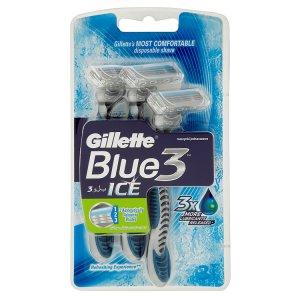 Gillette Blue 3 Ice pohotová holítka 3 ks
