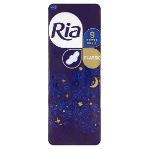 Ria Classic Night dlouhé dámské vložky s křidélky 9 ks