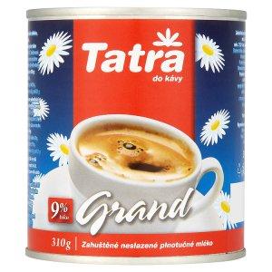 Tatra Grand zahuštené neslazené plnotučné mléko 310g
