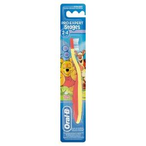 Oral-B Pro Expert Stages 2-4 dětský zubní kartáček - ultra měkký