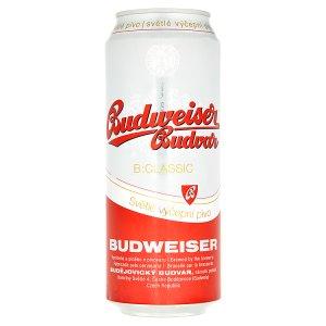 Budweiser Budvar B:Classsic 0,5l plechovka