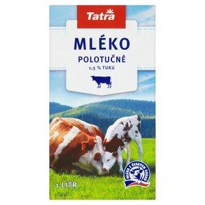 Tatra Trvanlivé polotučné mléko 1l