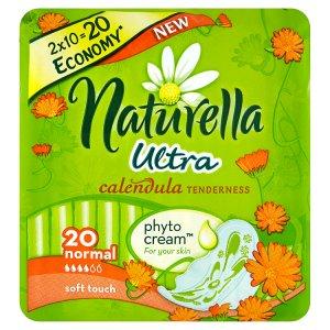 Naturella Calendula Tenderness ultra normal hygienické vložky s jemnou vůní 20 ks