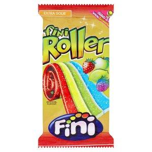 Fini Roller Extra sour želé s ovocnou příchutí 20g