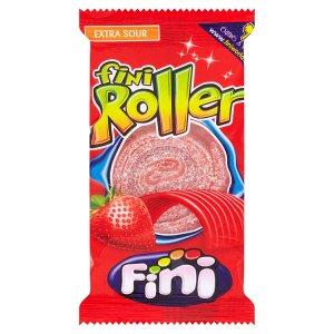Fini Roller strawberry cukrovinka s jahodovou příchutí 20g