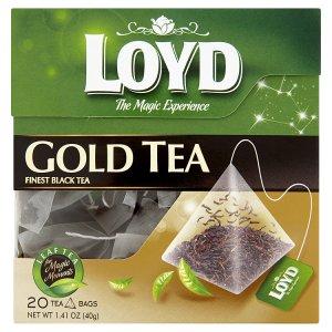 Loyd Pravý černý čaj, vybrané druhy 20 sáčků