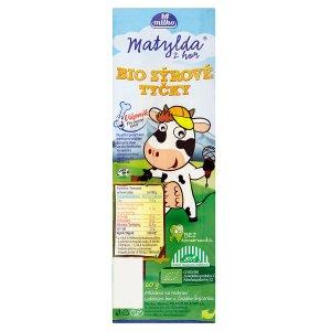 Milko Matylda z hor Bio sýrové tyčky 60g