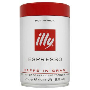 illy Espresso pražená káva zrnková 250g