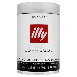 illy Espresso tmavě pražená mletá káva 250g v akci