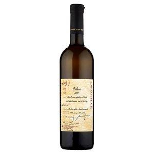 Vinselekt Michlovský Pálava víno s přívlastkem výběr z hroznů bílé polosuché 0,75l