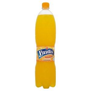 Budiš Perlivý nealkoholický nápoj s příchutí pomeranče 1,5l