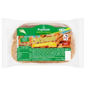 Dr. Popov Colorado chléb pšenično-žitný s obsahem psyllia 300g