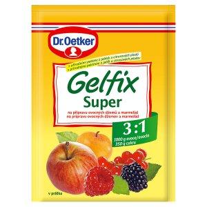 Dr. Oetker Gelfix super na přípravu ovocných džemů a marmelád 25g