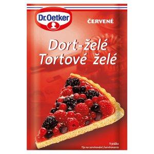 Dr. Oetker Dort-želé 10g, vybrané druhy
