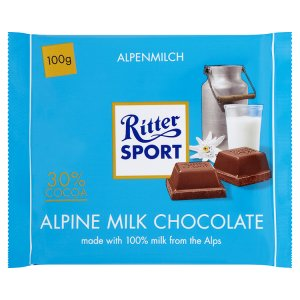 Ritter Sport Mléčná čokoláda 100g