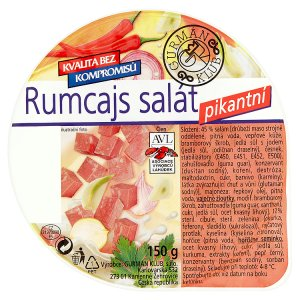 Gurmán Klub Rumcajs salát pikantní 150g