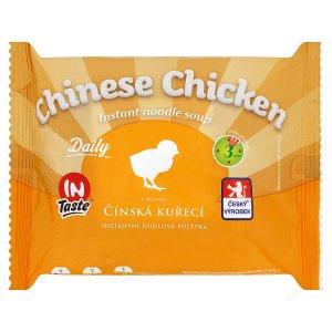 InTaste Daily Čínská kuřecí instantní nudlová polévka 60g