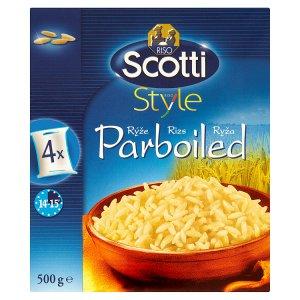 Riso Scotti Style Dlouhozrnná rýže parboiled ve varných sáčcích 4 x 125g