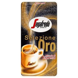 Segafredo Zanetti Selezione oro pražená zrnková káva 1000g v akci