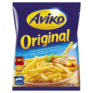 Aviko Original bramborové hranolky do trouby 750g