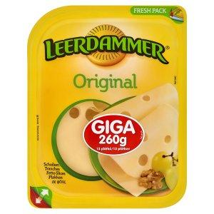 Leerdammer Original holandský polotvrdý sýr 260 g