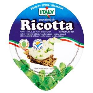 Italy Ricotta syrovátkový sýr 200g