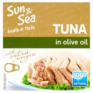 Sun & Sea Tuňák v olivovém oleji 80g
