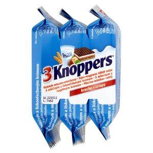 Storck Knoppers Oplatky s mléčným a lískooříškovým krémem 3 x 25g