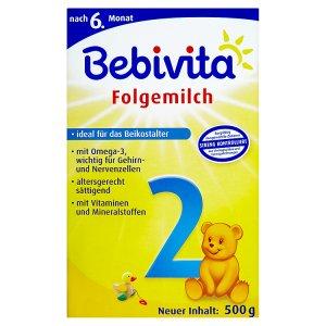 Bebivita 2 Pokračovací mléčná kojenecká výživa 2 x 250g
