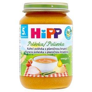HiPP Bio Polévka 190g, vybrané druhy