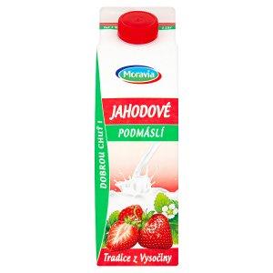 Moravia Jahodové podmáslí 1l