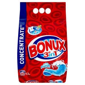 Bonux 3v1 prací prášek 60 praní 4,5kg