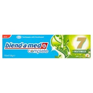 Blend-A-Med Complete 7 + Mouthwash zubní pasta 100ml