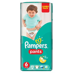Pampers Pants 6 extra large 44 ks