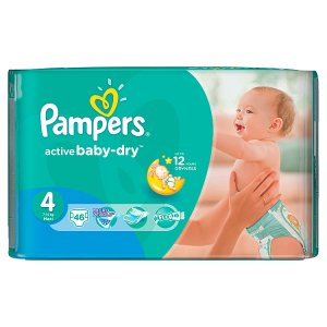 Pampers Active Baby Pleny 4 Maxi 46 ks