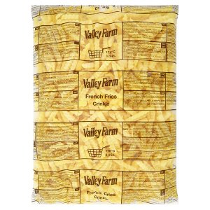 Valley Farm Hranolky vlnky 2,5kg